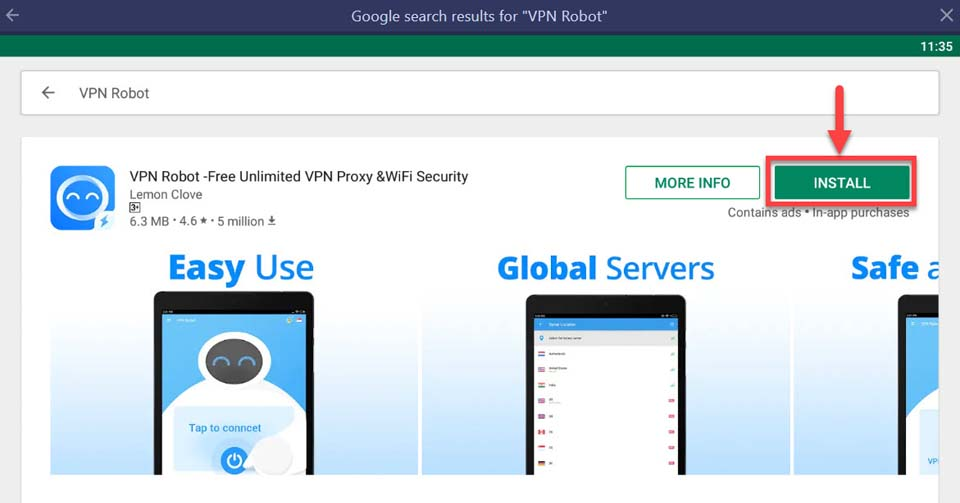 Download VPN Robot For PC/Laptop (Windows 10/8/7 and Mac)
