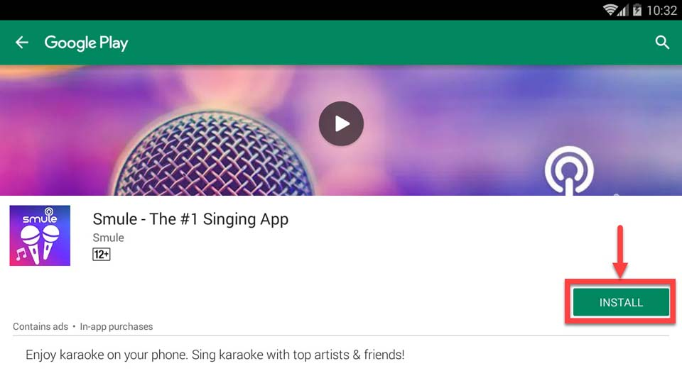 Download and Install Sing! Karaoke by Smule For PC (Windows 10/8/7 and Mac)