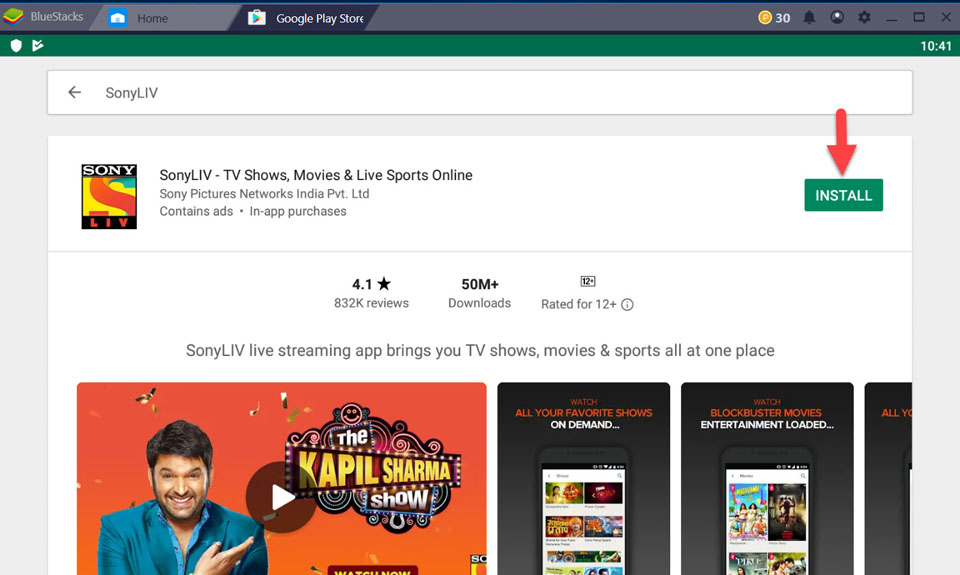 Download Sony LIV App For PC/Laptop (Windows 10/8/7/Mac) For Free