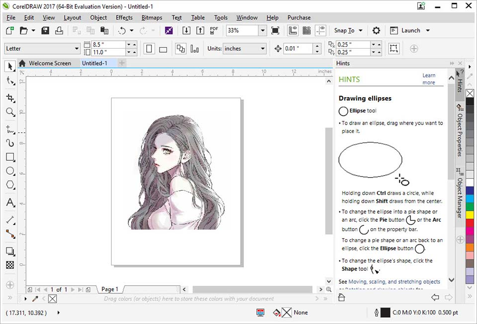 Portable CorelDRAW Graphics Suite 2017 Free Download