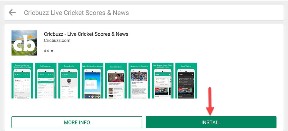 Download and Install Cricbuzz Live Cricket Scores For PC (Windows 10/8/7 and Mac)