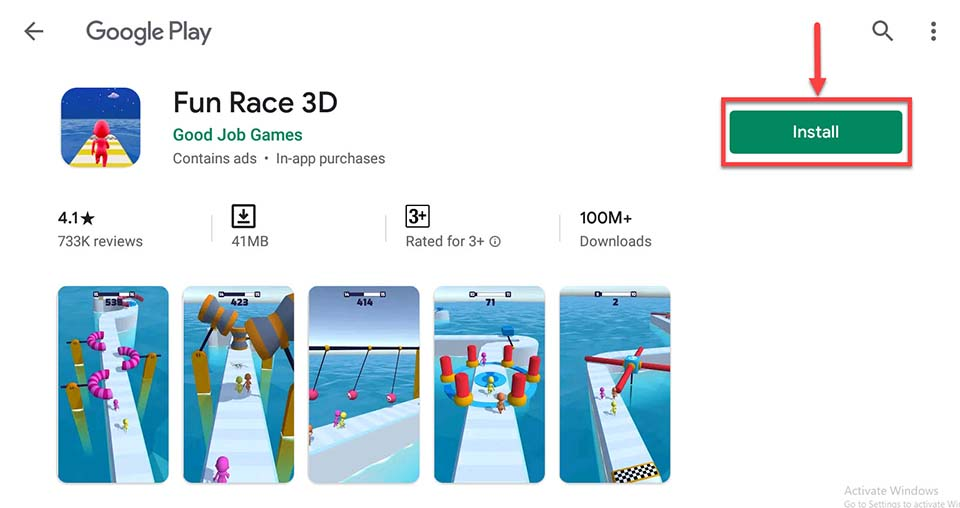 Download and Install Fun Race 3D For PC (Windows 10/8/7 and Mac)