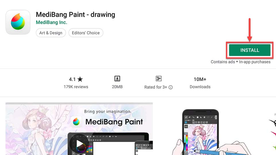 Download and Install MediBang Paint (Make Art) For PC (Windows 10/8/7 and Mac)