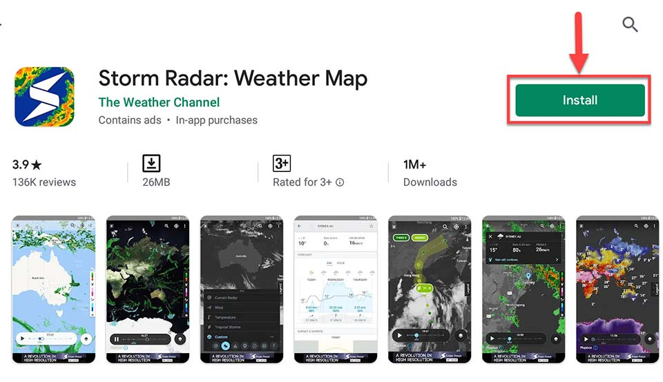 Download and Install Storm Radar app For PC (Windows 10/8/7/Mac)