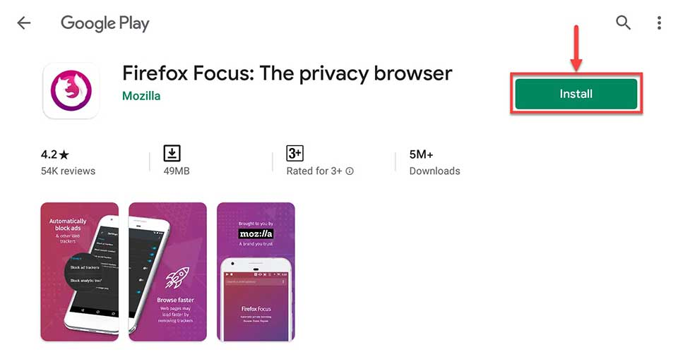 Download and Install Firefox Focus For PC (Windows 10/8/7 and Mac)