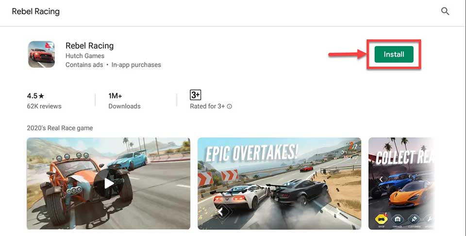 How To Download and Install Rebel Racing For PC (Windows 10/8/7 and Mac)