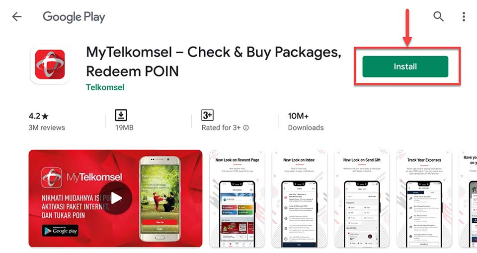 Download and Install MyTelkomsel For PC (Windows 10/8/7)