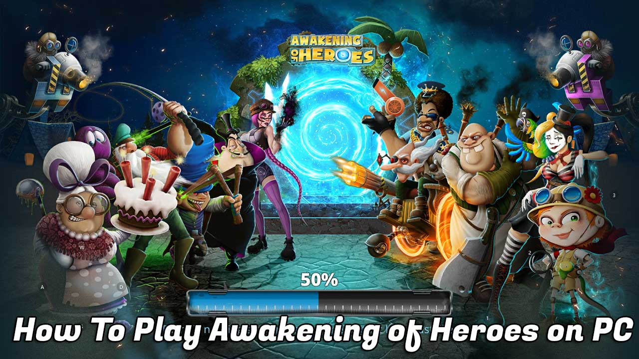 Play Awakening of Heroes on PC