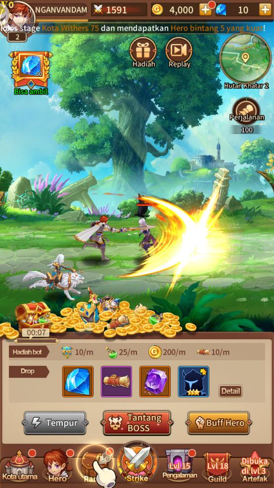 Play Idle Legends: Ragnarok Saga on PC