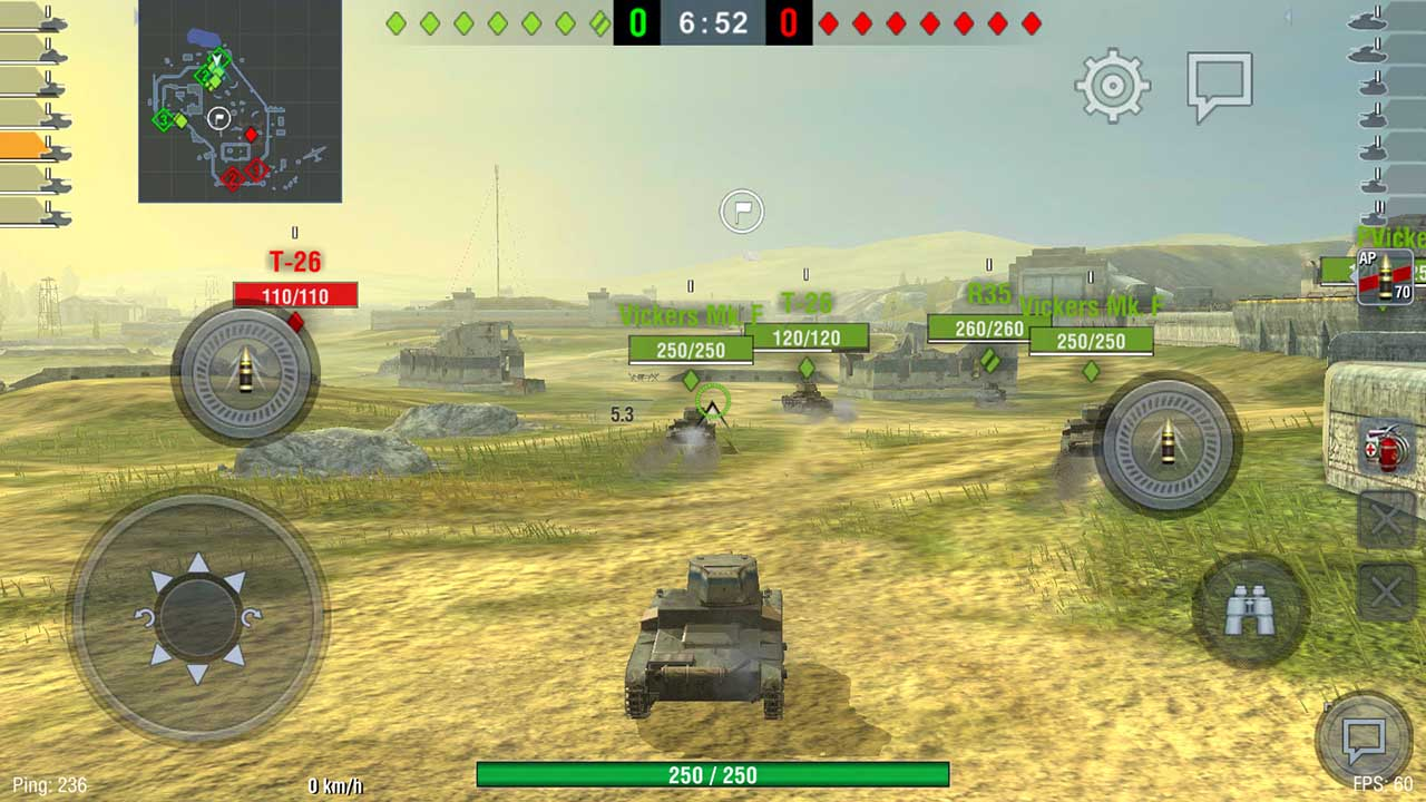 Play World of Tanks on PC