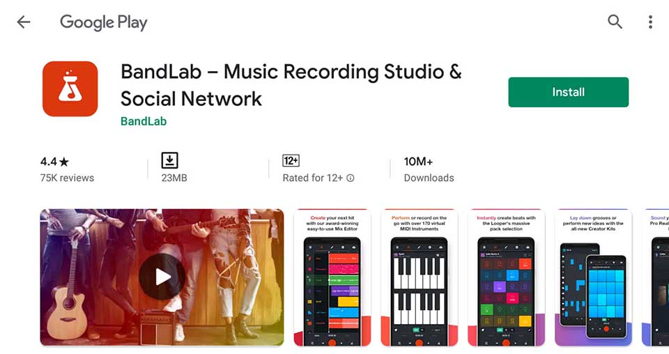 Download and Install BandLab For PC (Windows 10/8/7 and Mac)