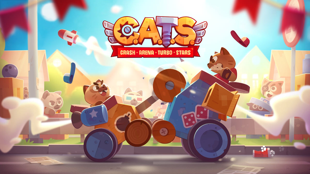 Play CATS: Crash Arena Turbo Stars on PC