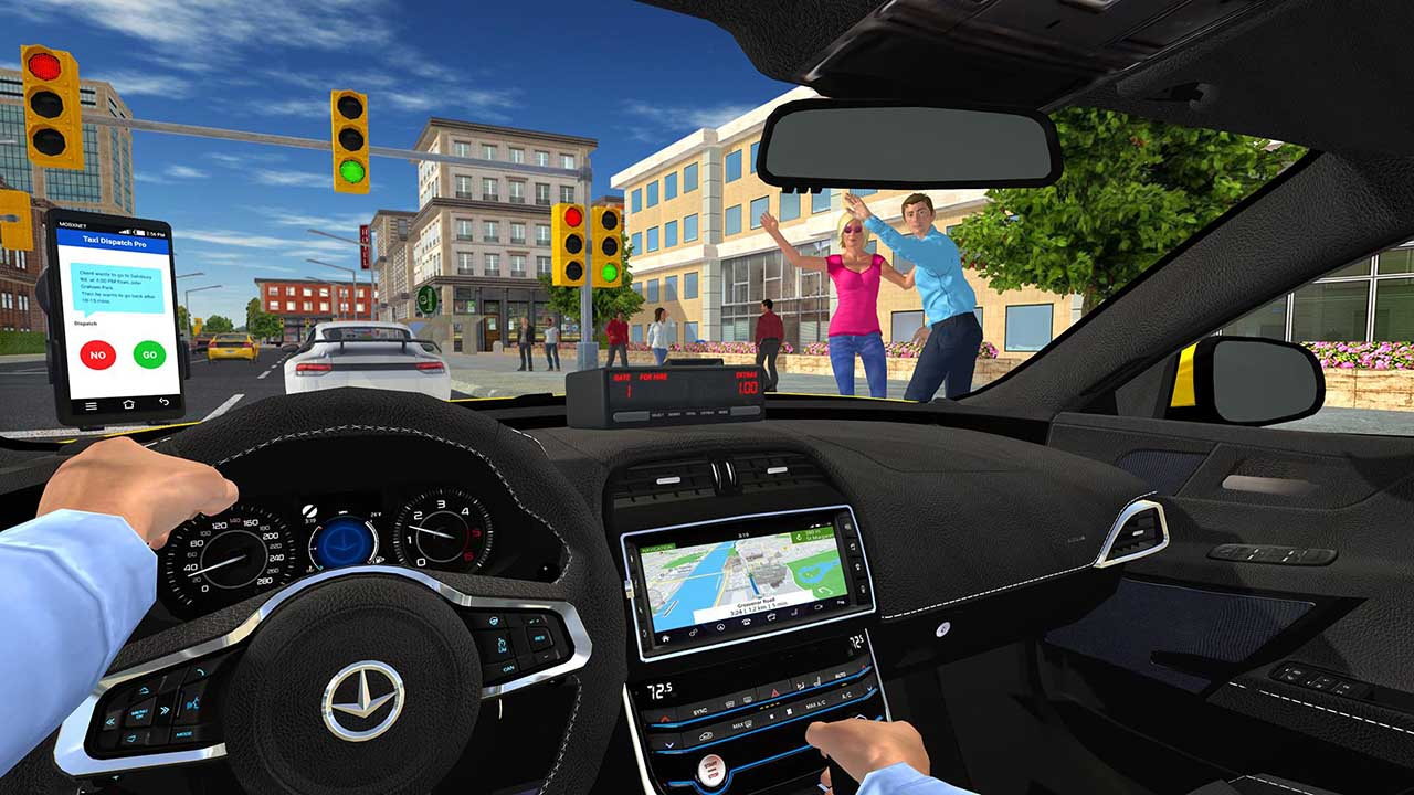 Play Taxi Game 2 on PC