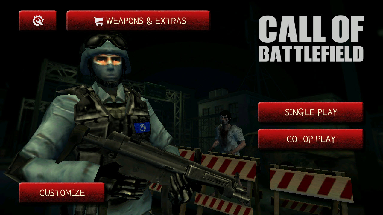 Play Call Of Battlefield FPS on PC
