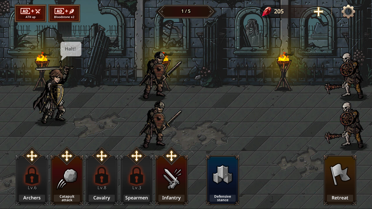 Play King's Blood: The Defense on PC