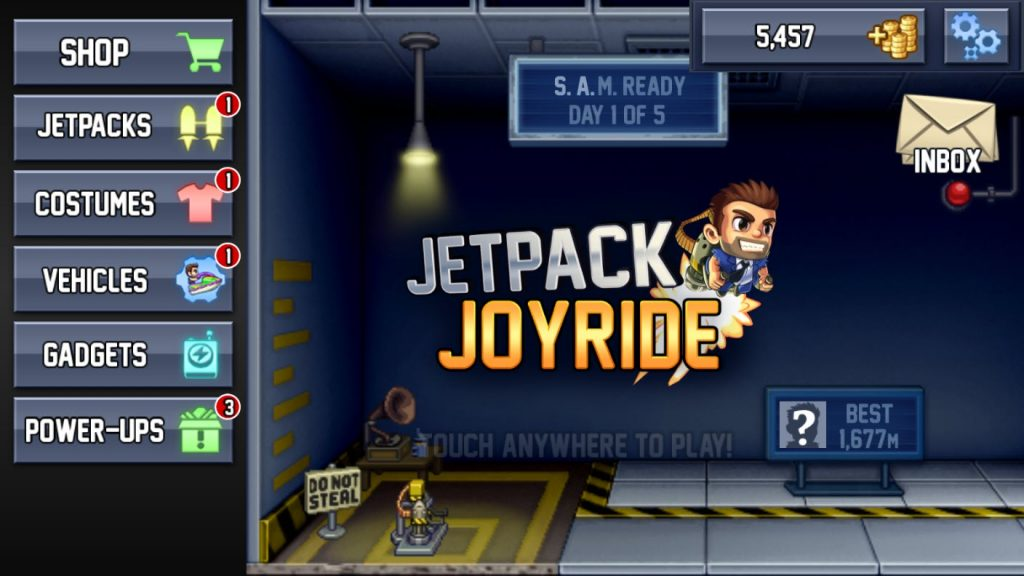 Play Jetpack Joyride on PC