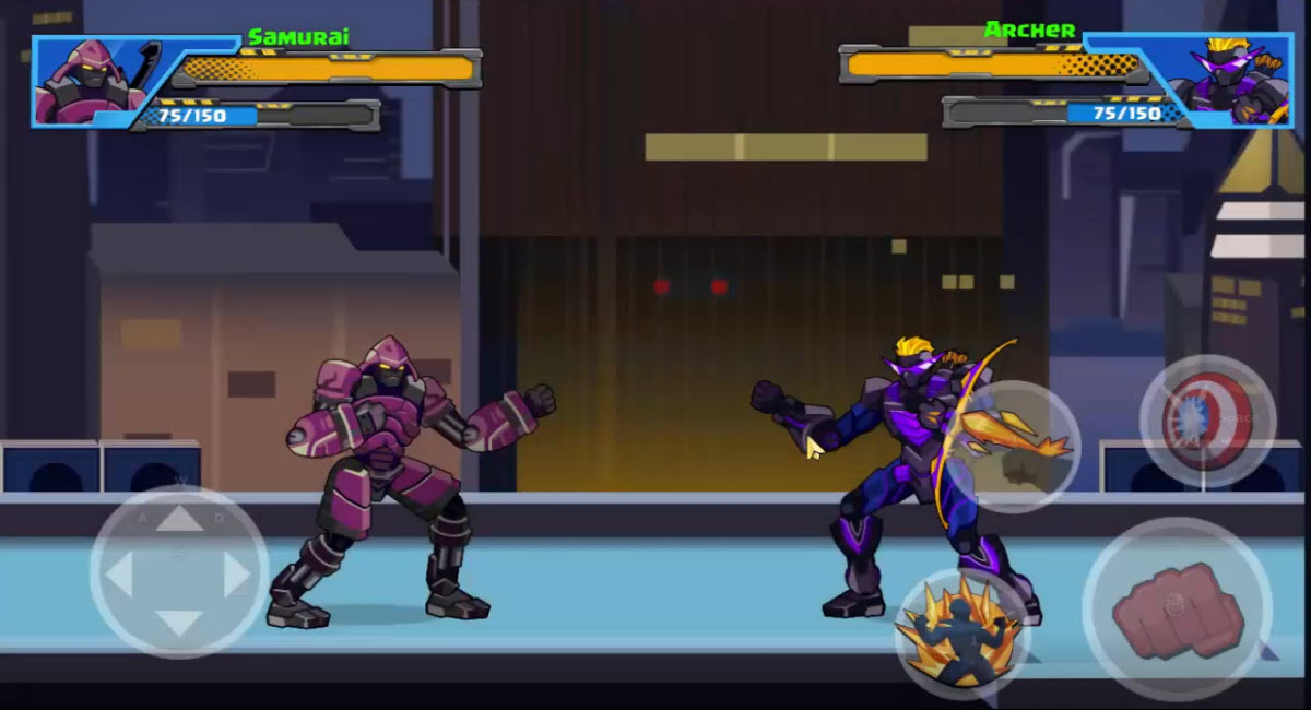 Play Robot Super: Hero on PC